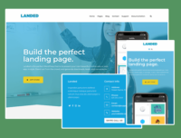 Landed Landing Page